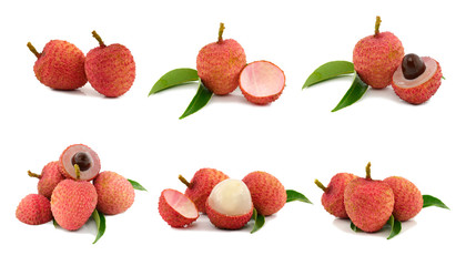 collection of 6 lychee images
