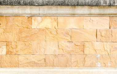 Sand stone brick wall,texture background