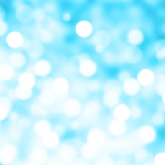 Abstract Christmas background with bokeh lights and place for te