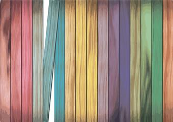 legno colorato