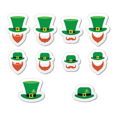 Leprechaun character for St Patrick's Day in Ireland