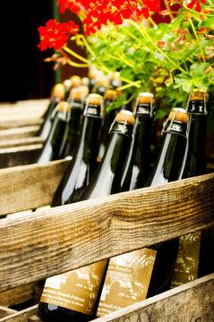 bouteilles de cidre