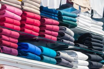 hoodies in the store