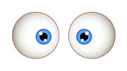 Shocked Eyes Expression