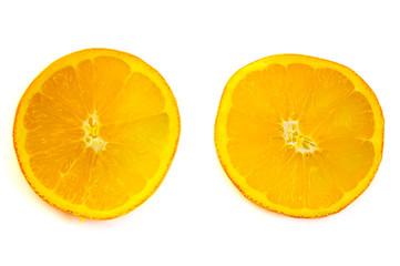 Orange fruit isolated