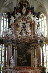 Altar in Graz Cathedral, Austria