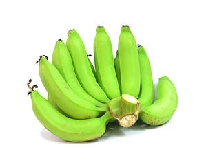 bananas isolate on white background