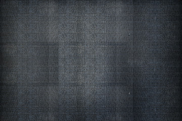 Surface Textile Black Knit Material Woven Concept