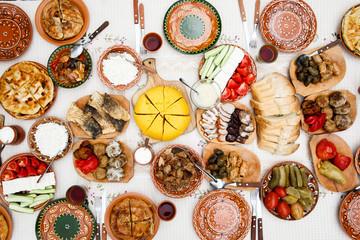 homemade moldavian food