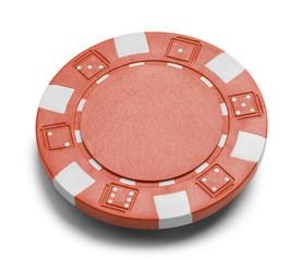Red Poker Chip