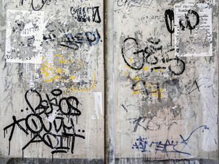 Grunge Wall Texture Background in Bangkok
