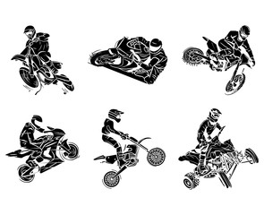 Motorbike tattoo Collection