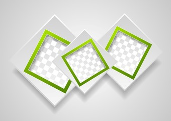 Abstract modern frames background
