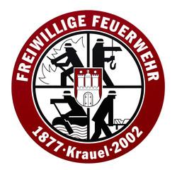 Schild Freiwillige Feuerwehr Hamburg Krauel