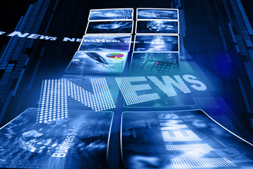 Business news background .