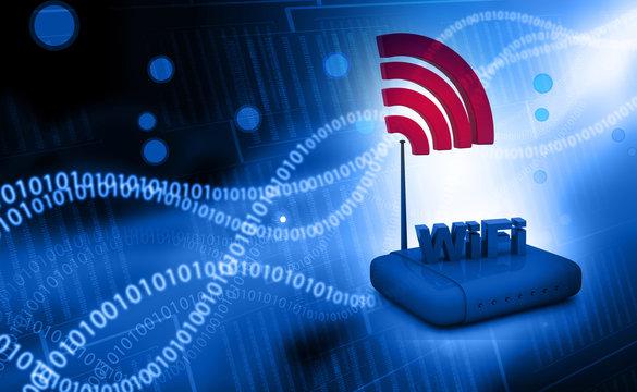 Wifi internet router switch modem