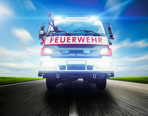 Feuerwehrwagen
