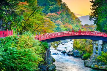 Shinkyo Sacred Bridge in Japan