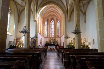 Franciscan Church in Graz, Styria, Austria