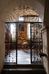 Altar of Our Lady of Sorrows, Franciscan Church, Graz, Austria