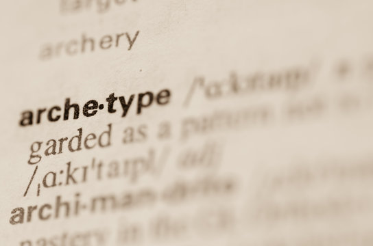 Dictionary definition of word archetype