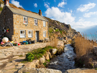 Wall Mural - Penberth Cove Cornwall England