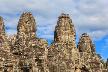 Bayon Temple at Angkor Wat, Siem Reap Cambodia