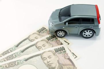 車の購入・税金イメージ