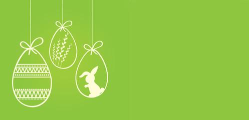 Obraz Wielkanoc kartka z życzeniami - fototapety do salonu
