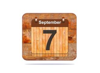 September 7.
