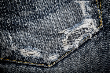 The part of jeans texture rag for the background