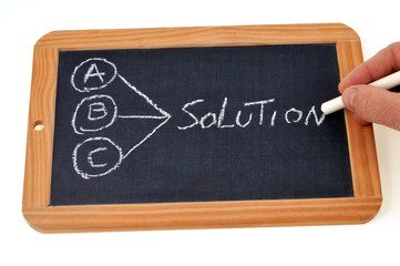Trois propositions une solution