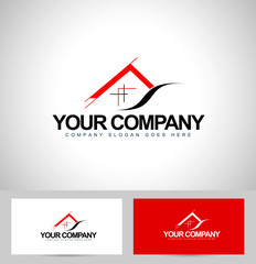 House Logo Design. Architecture Concept Icon