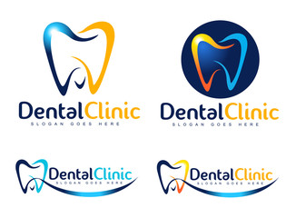 Dental Logo Design. Dentist Logo