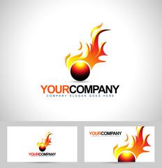 Fire Flame Logo. Creative Flame vector logo