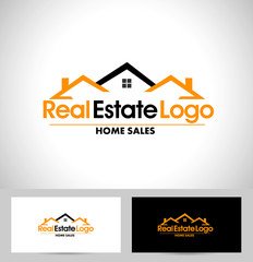 Real Estate Logo Design. House Logo Design