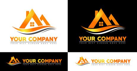 Real Estate Logo Design. House Logo Design