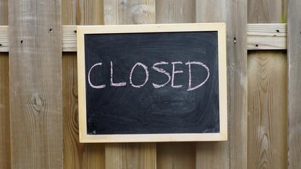 Closed written