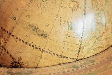 Antiker Globus