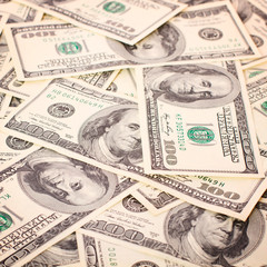 Background of money for business closeup