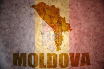 vintage moldova map