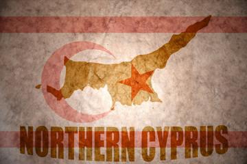 vintage northern cyprus map