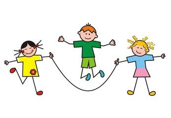 Children, group, sport