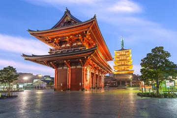 Foto op Aluminium Tokyo Tokyo - Sensoji Temple in Asakusa, Japan