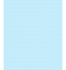 Seamless sea pattern. Light blue waves on white background