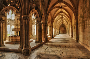 historical monastery of Batalha in Portugal Wall mural