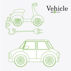 eco, ecology design, vector illustration.