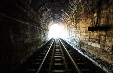 Acrylic Prints Tunnel Railway tunnel