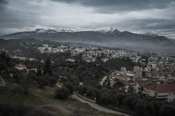 Cityscape at Patras, Peloponnese, Greece