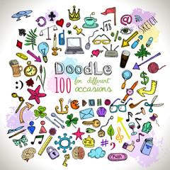 Doodle Icons set